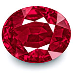 4.02-Carat Rare Unheated VS-Clarity Rich Pinkish Red Ruby (GRS)