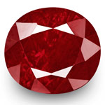 2.50-Carat Unheated Lively Pigeon Blood Red Ruby from Tajikistan