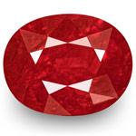2.12-Carat Unheated Fiery Neon Red Ruby from Mozambique (IGI)