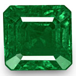 5.64-Carat Stunning Octagonal-Cut Deep Green Emerald from Zambia