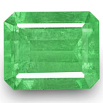 18.34-Carat GRS-Certified Large Pastel Green Colombian Emerald