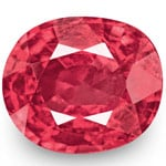 0.82-Carat Cushion-Cut Bright Pink Spinel from Burma (Unheated)