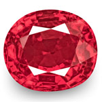 0.70-Carat Natural & Untreated Oval-Cut Hot Pink Burmese Spinel