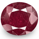 7.38-Carat GRS-Certified Unheated Deep Purplish Red Burmese Ruby