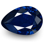 1.13-Carat Flawless Royal Blue Sapphire from Burma (Unheated)