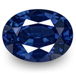0.82-Carat Flawless Royal Blue Sapphire from Burma (Unheated)