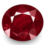 5.99-Carat Natural & Unheated Deep Red Ruby from Mogok, Burma