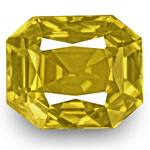 6.46-Carat Dazzling VS-Clarity Rich Golden Yellow Sapphire (GRS)