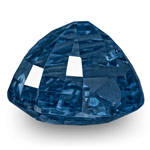 12.38-Carat Exclusive Eye-Clean Fiery Deep Blue Burmese Sapphire