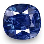 1.11-Carat Eye-Clean Royal Blue Kashmir-Origin Sapphire (GIA)