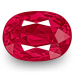 3.04-Carat Unheated Eye-Clean Vivid Pinkish Red Ruby (GRS)