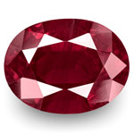 4.48-Carat Rare Unheated Rich Purplish Red Kashmir Ruby (GRS)