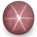 100.98-Carat Large Purple Pink Star Sapphire from India (GRS)