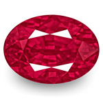 3.57-Carat Rare Unheated VS-Clarity Vivid Pinkish Red Ruby (GRS)
