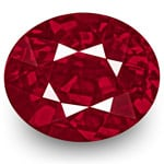 2.01-Carat Unheated Eye-Clean Rich Vivid Pinkish Red Ruby (GRS)