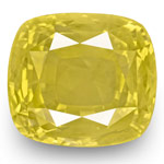 19.39-Carat Large Unheated Eye-Clean Yellow Sapphire (GRS)