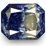 6.65-Carat Unique Bi-Color Sapphire from Kashmir (GIA-Certified)