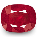 6.17-Carat Unheated Lively Pinkish Red Ruby from Burma (GRS)