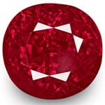 5.77-Carat Fiery Deep Pinkish Red Burmese Ruby (Unheated)