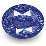 13.08-Carat Unheated VS-Clarity Velvety Cornflower Blue Sapphire