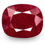 8.09-Carat GII-Certified Unheated Deep Red Burmese Ruby