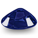 1.00-Carat GRS-Certified Unheated Vivid Royal Blue Sapphire