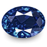 1.21-Carat Unheated Eye-Clean Fiery Deep Blue Sapphire (GRS)