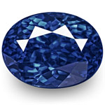 "1.17-Carat Top-Grade Unheated ""Royal Blue"" Ceylon Sapphire (GRS)"