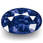 1.11-Carat GRS-Certified Unheated Royal Blue Ceylon Sapphire