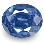 2.45-Carat Pair of Cornflower Blue Sapphires (GRS-Certified)