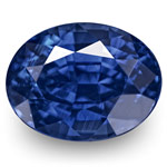 2.46-Carat Pair of Unheated Vivid Royal Blue Sapphires (GRS)