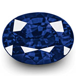 "1.09-Carat Flawless ""Vivid Royal Blue"" Sapphire (GRS-Certified)"