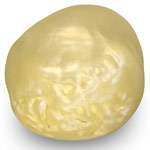 20.07-Carat Rare Large-Sized Rich Creamy White Pearl from Basra