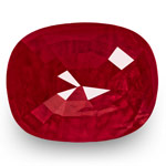 4.79-Carat GRS-Certified Unheated Deep Red Ruby from Burma