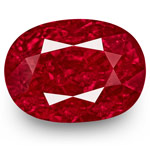3.55-Carat Unheated Rich Intense Purplish Red Burmese Ruby (GRS)