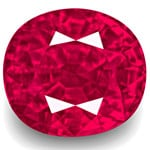 3.94-Carat Rare Unheated VVS-Clarity Burma Ruby (GRS-Certified)