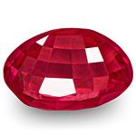 6.51-Carat Rare Unheated Eye-Clean Fiery Vivid Pinkish Red Ruby
