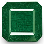 66.63-Carat Extra Large Dark Green Emerald from Zambia