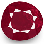 4.97-Carat GIA-Certified Unheated Rich Red Ruby from Burma