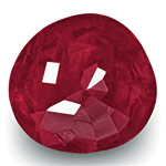 4.97-Carat Natural & Unheated Rich Red Ruby from Mogok, Burma