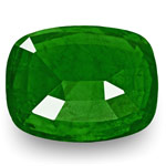 5.39-Carat Beautiful Eye-Clean Royal Green Zambian Emerald (GRS)