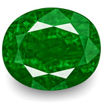 7.11-Carat Outstanding GRS-Certified Deep Green Zambian Emerald