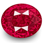 4.09-Carat Unheated VS-Clarity Pinkish Red Mozambique Ruby (GRS)