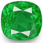 5.07-Carat Rare Eye-Clean Lively Intense Green Colombian Emerald