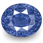 "5.56-Carat GRS-Certified ""Cornflower Blue"" Sapphire from Ceylon"
