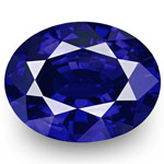 "1.13-Carat Flawless ""Royal Blue"" Sapphire from Sri Lanka (GRS)"