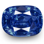 2.02-Carat Pair of Unheated Vivid Blue Sapphires (GRS-Certified)