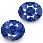 4.26-Carat Pair of Eye-Clean Cornflower Blue Burmese Sapphires