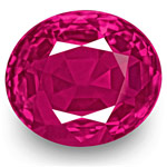 5.34-Carat Rare Unheated VS-Clarity Vivid Pinkish Red Burma Ruby