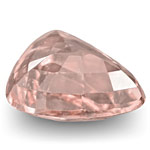 1.23-Carat Eye-Clean Pastel Orangy Pink Padparadscha Sapphire